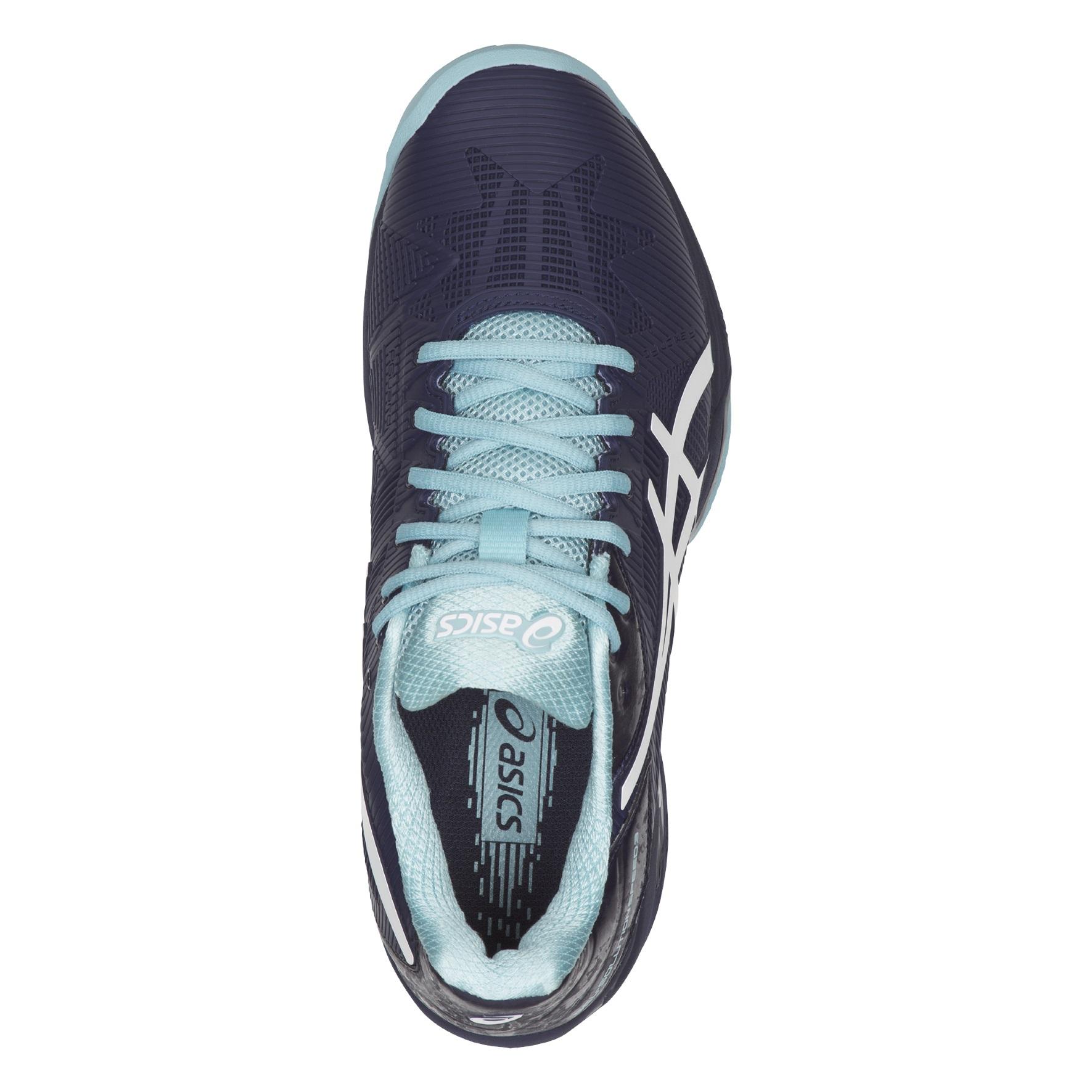 Sport en vakantie Tennis Damen Tennisschuhe blau-weiß E651N ...