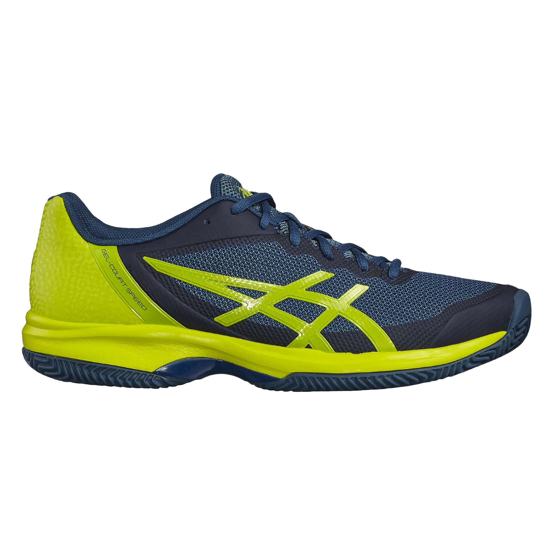 Asics Gel Court Speed Clay 2018 inkblue Tennisschuhe Herren