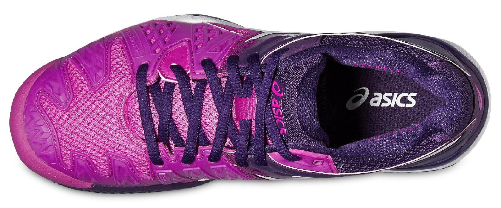 Asics Gel Resolution 6 Clay hotpinkpurple Tennisschuhe Damen