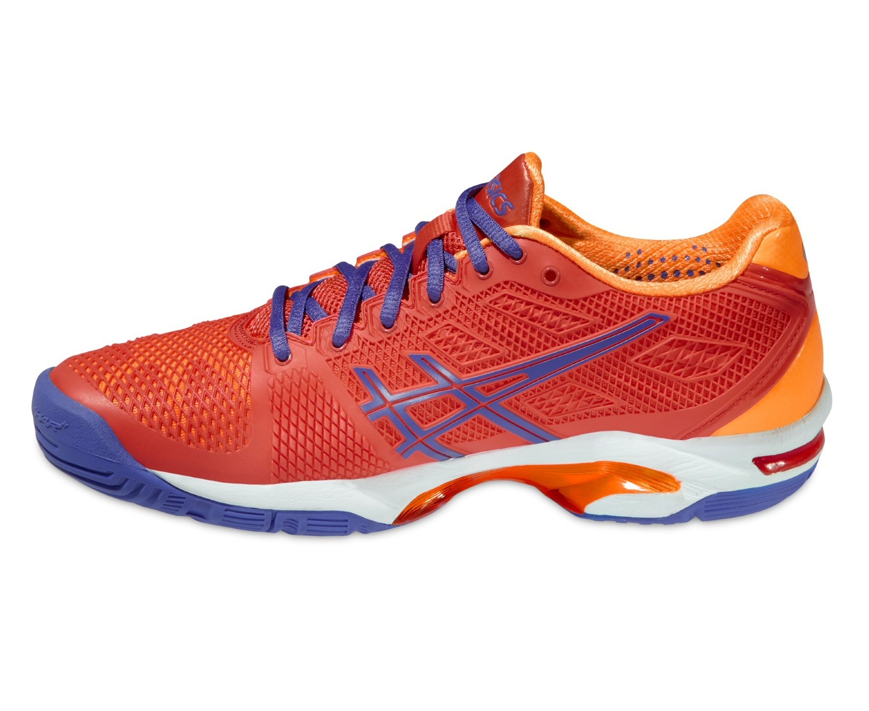 Asics Gel Solution Speed 2 koralle Tennisschuhe Damen