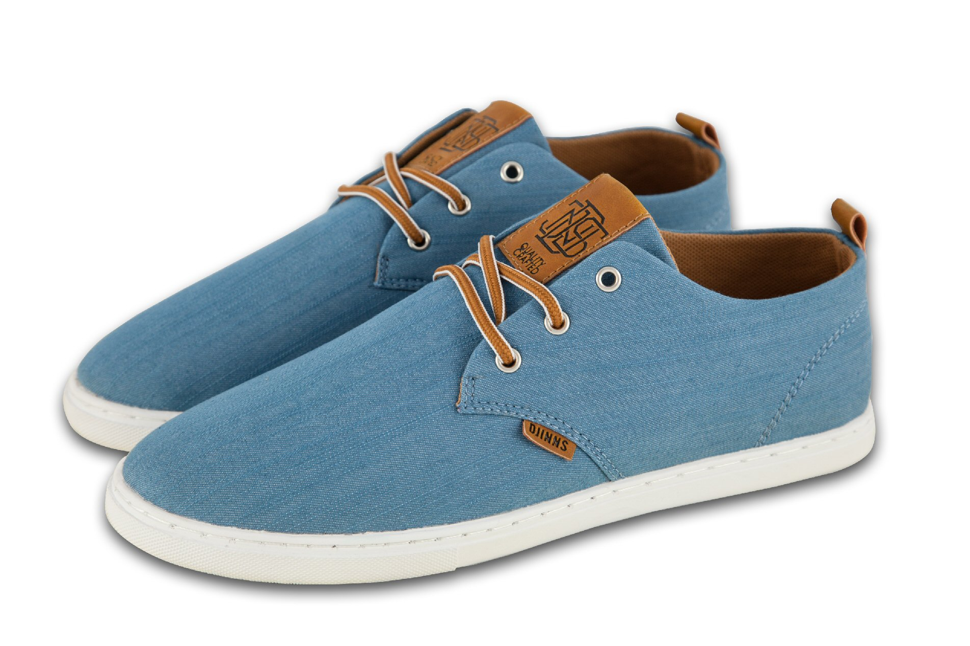 Djinn´s Djinns Low Lau Linen 2015 blau Sneaker Herren