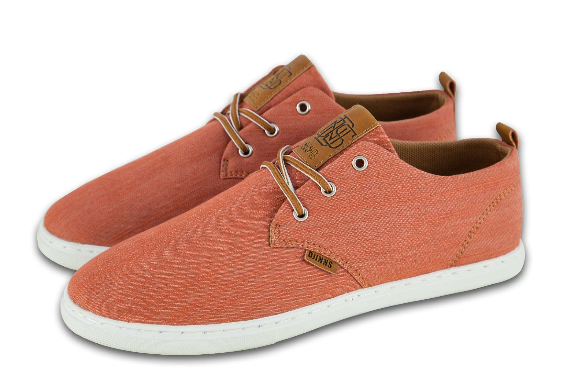 Djinn´s Djinns Low Lau Linen 2015 burned orange Sneaker Herren