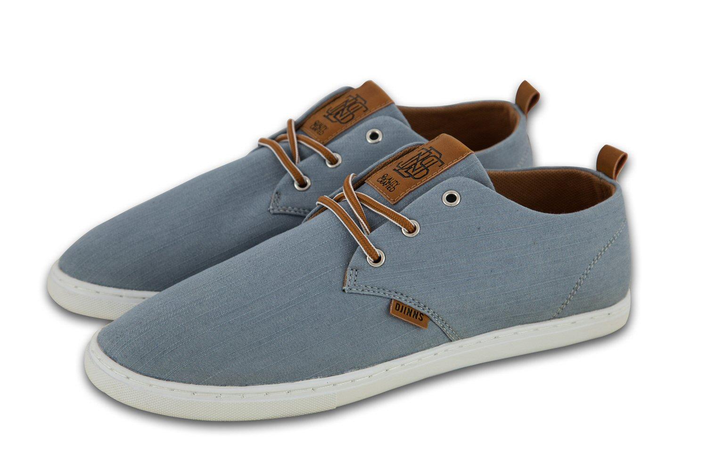 Djinn´s Djinns Low Lau Linen 2015 grau Sneaker Herren