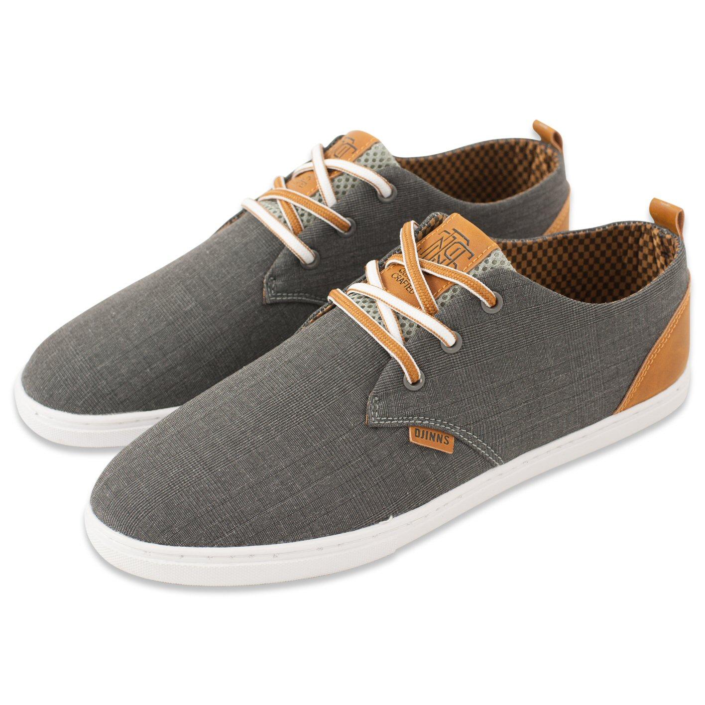 Djinn´s Djinns Low Lau GlenCheck grau Sneaker Herren