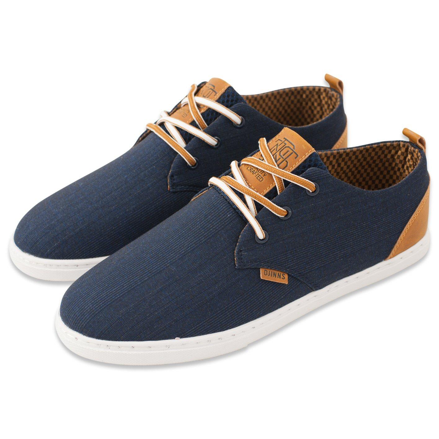 Djinn´s Djinns Low Lau GlenCheck navy Sneaker Herren