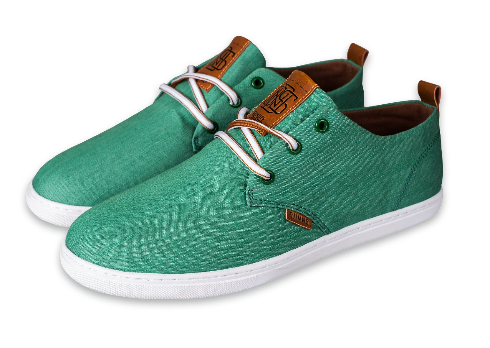 Djinn´s Djinns Low Lau Linen 2014 grün Sneaker Herren