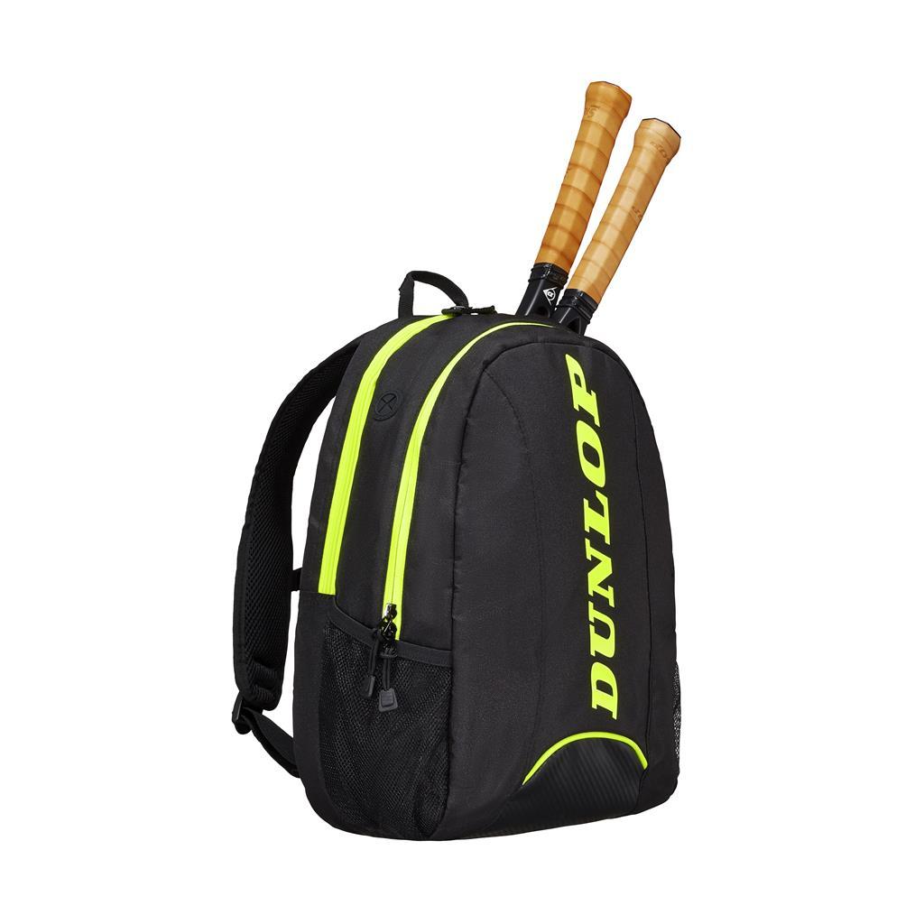 Dunlop Rucksack Natural Tennis 2019 schwarz/gelb