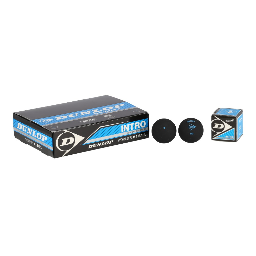 Dunlop Squashball Intro (schnell) 12er Box
