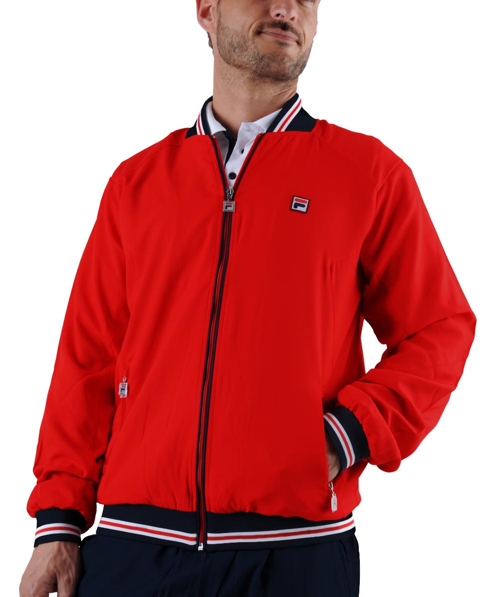 Fila Jacket Juno rot Herren