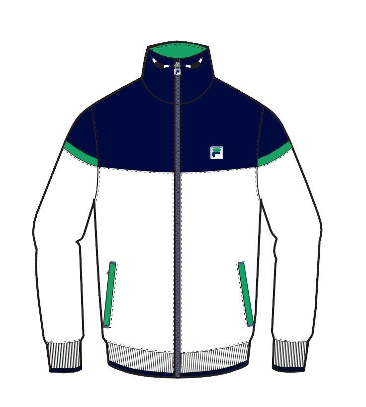 Fila Jacket Jan weiss/navy Herren