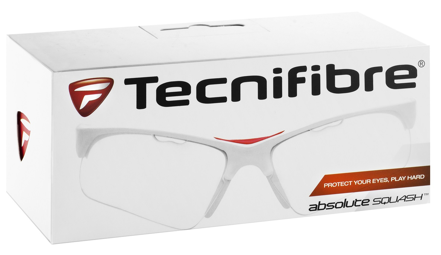 Tecnifibre Squashbrille weiss