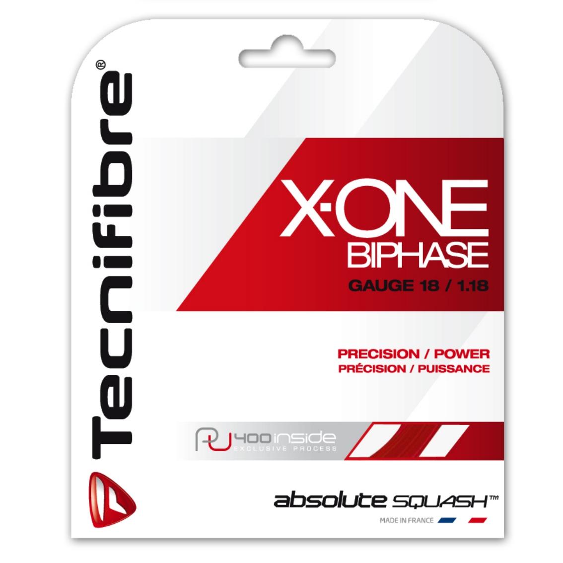 Tecnifibre X One 1.18 rot Squashsaite