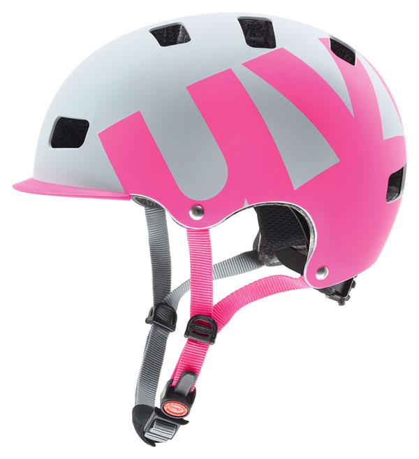 uvex Fahrradhelm hlmt 5 bike pro pink/grau