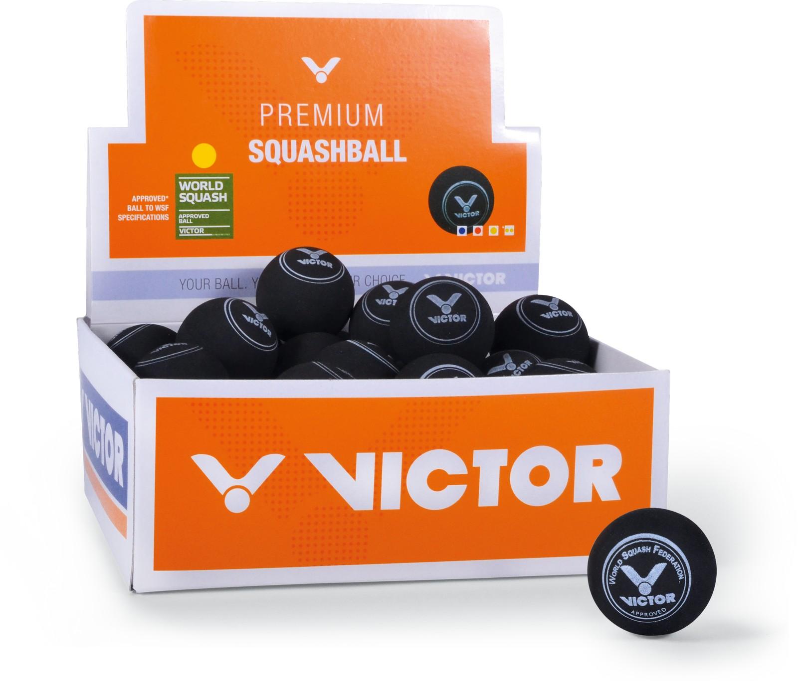 Victor Squashball (1 Punkt) 36er Box
