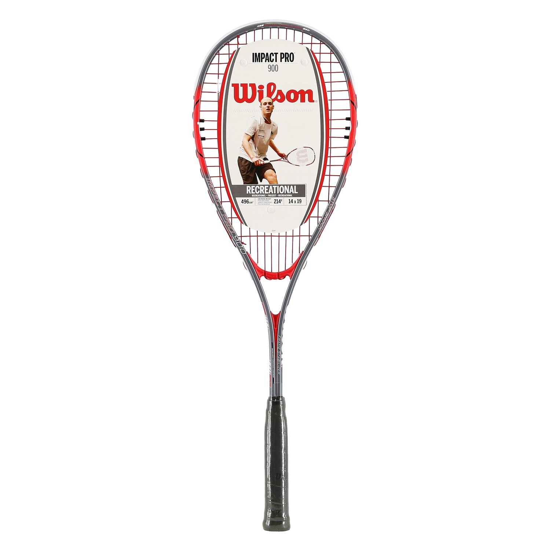 Wilson Impact Pro 900 silber/rot Squashschläger