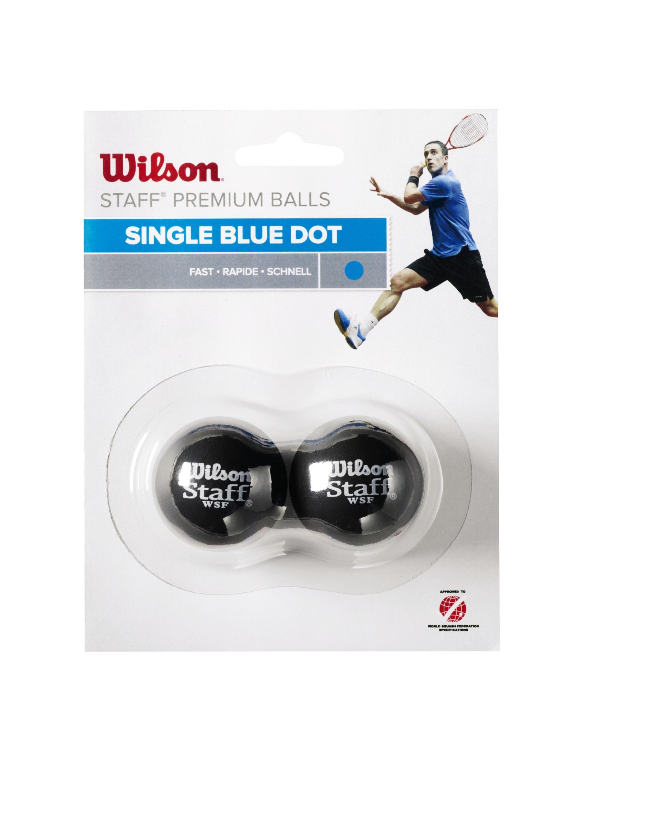 Wilson Squashball Staff (schnell) 2er