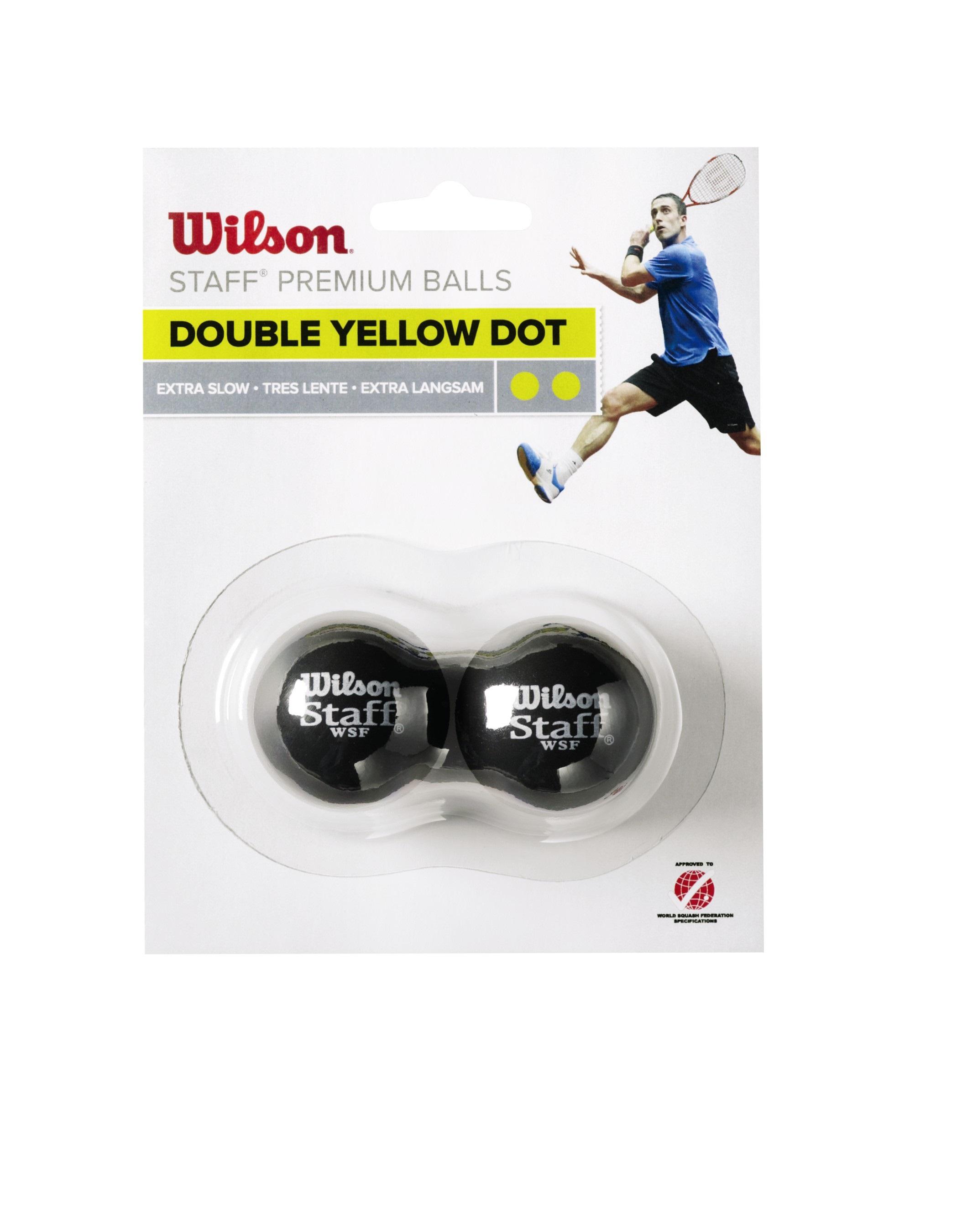 Wilson Squashball Staff (2 Punkt) 2er