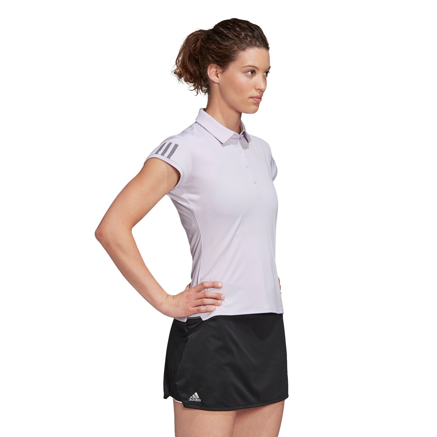 adidas Polo Club 3 Stripes 2020 flieder Damen