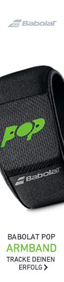 Das neue Babolat Pop Armband. Tracke alle deine Erfolge.