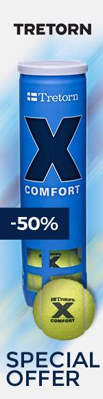 Tretorn X Comfort Trainingsbälle gelb