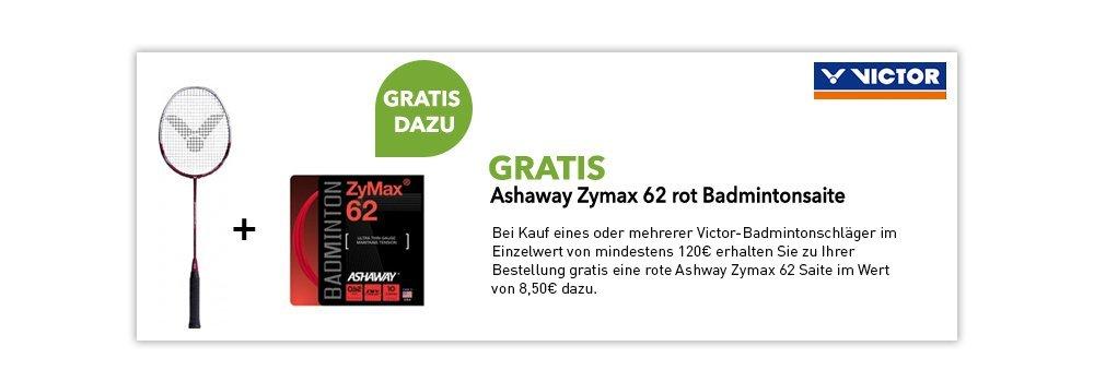 gratis Ashaway Zymax 62