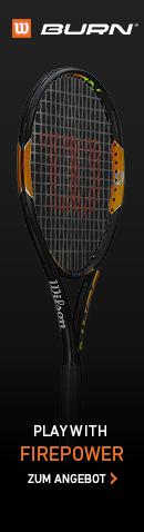 Wilson Burn Tennisschl�ger g�nstig online bestellen.
