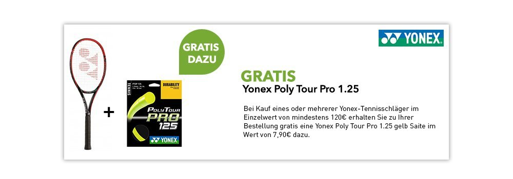gratis Yonex Poly Tour Pro