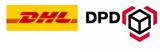 Versand mit DHL und DPD