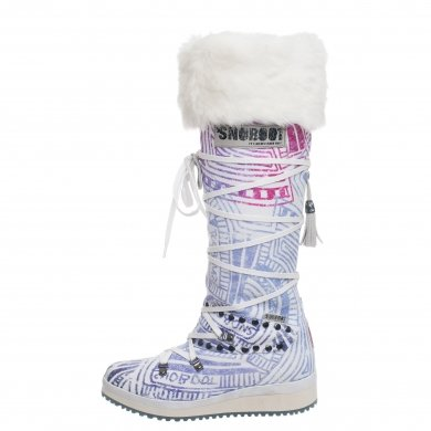 Snoboot Mutant High Stamp purple Winterschuhe Damen (Größe 38)