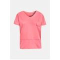 Esprit Shirt Slub koralle Damen