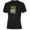 Asics Tshirt Hermes Graphic schwarz/grün Herren