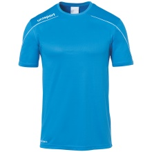 uhlsport Trikot Stream 22 2019 cyan/weiss Boys