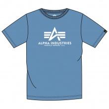 Alpha Industries Tshirt Basic (Baumwolle) airforceblau Herren