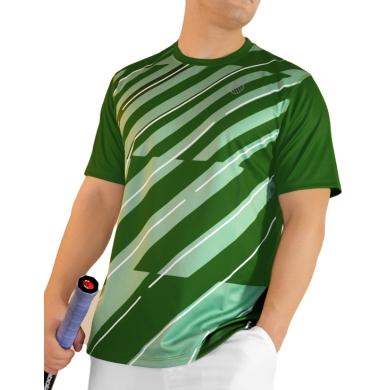 KSwiss Tshirt Lines Crew grün Herren (Größe L)