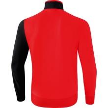 Erima Trainingsjacke 5-C rot/schwarz/weiss Herren