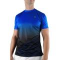 KSwiss Tshirt Big Shot blau/schwarz Herren (Größe L)