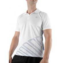 KSwiss Polo Big Shot weiss/navy Herren