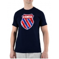 KSwiss Tshirt Logo navy Herren