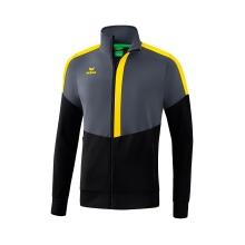 Erima Jacke Squad Worker 2020 grau/schwarz/gelb Boys