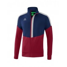 Erima Jacke Squad Worker 2020 navy/bordeaux/grau Boys