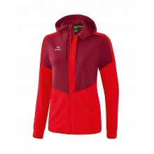 Erima Trainingsjacke Squad 2020 bordeaux/rot Damen