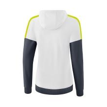 Erima Trainingsjacke Squad 2020 weiß/grau/lime Damen