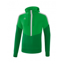Erima Hoodie Squad 2020 grün/smaragd/grau Boys