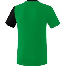 Erima Tshirt 5-C 2019 grün/schwarz/weiss Herren