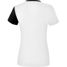 Erima Shirt 5-C 2019 weiß/schwarz/dunkelgrau Damen