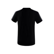 Erima Tshirt Squad 2020 schwarz/grau Herren