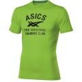 Asics Tshirt Logo Performance grün Herren