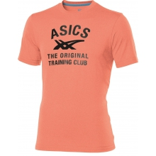 Asics Tshirt Logo Performance orange Herren