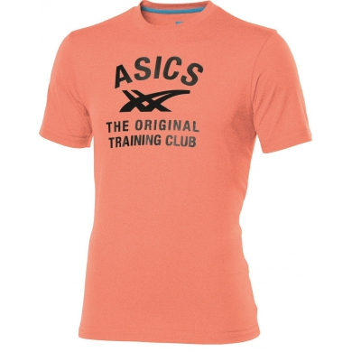 Asics Tshirt Logo Performance orange Herren (Größe S+XL)