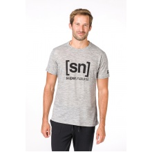 super natural Tshirt Essential I.D. 2019 grau Herren